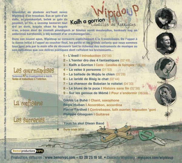 """KAILH A GORRION """"WIPIDOUP 2012"""""""